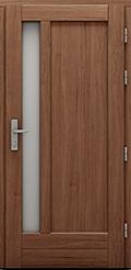 Drzwi drewniane z kolekcji Klasycznej, model Czantoria