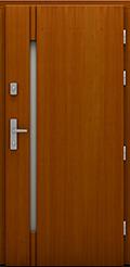 Drzwi drewniane z kolekcji Rycerska, model Dragon
