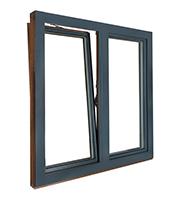 okno drewniano-aluminiowe Thermo80 Alu